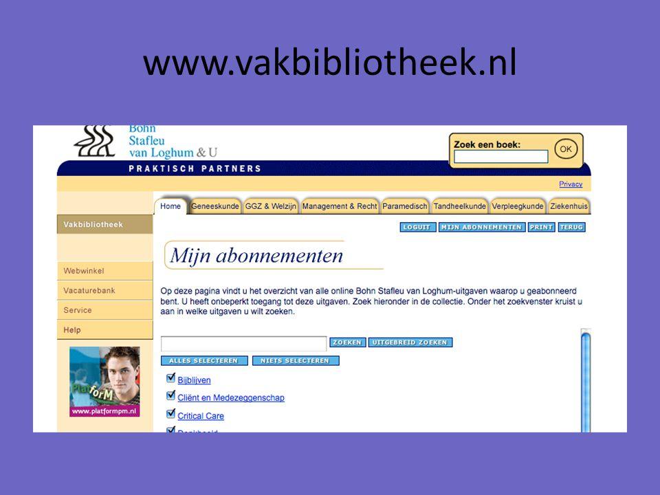 www.vakbibliotheek.nl