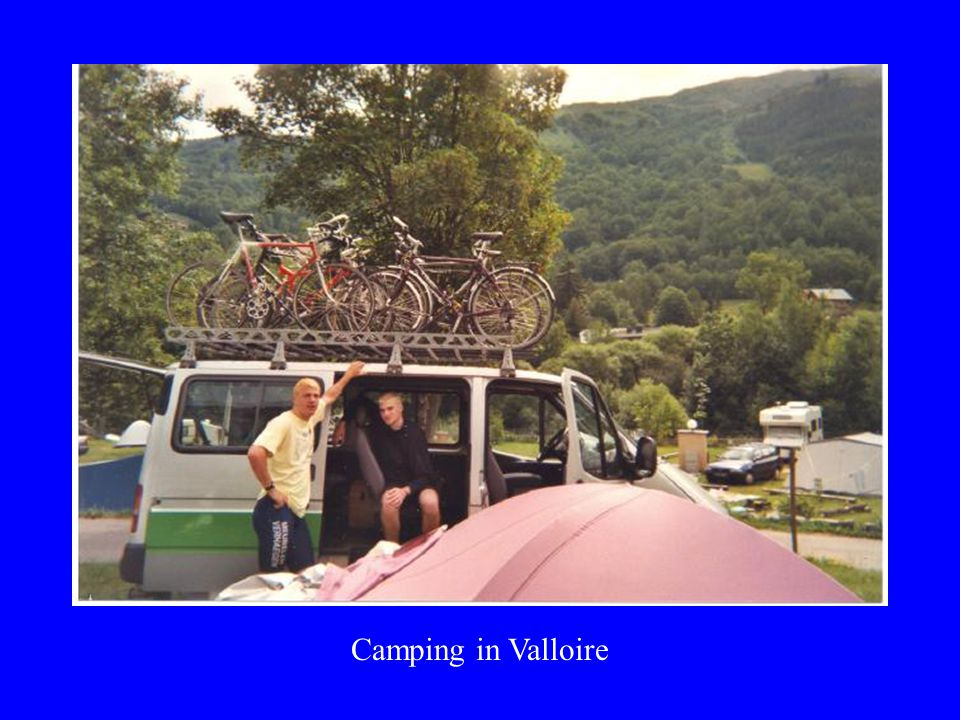 Camping in Valloire