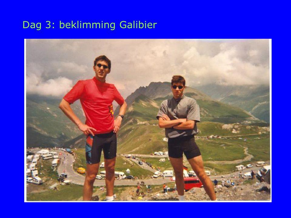 Dag 3: beklimming Galibier