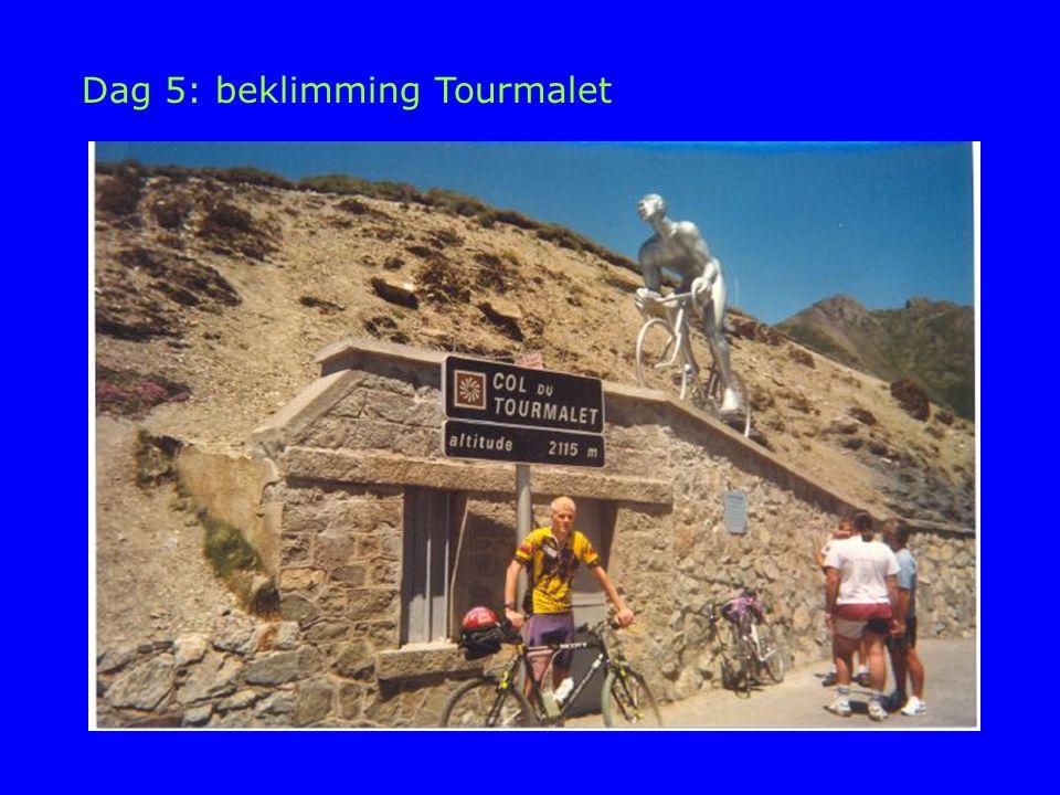 Dag 5: beklimming Tourmalet