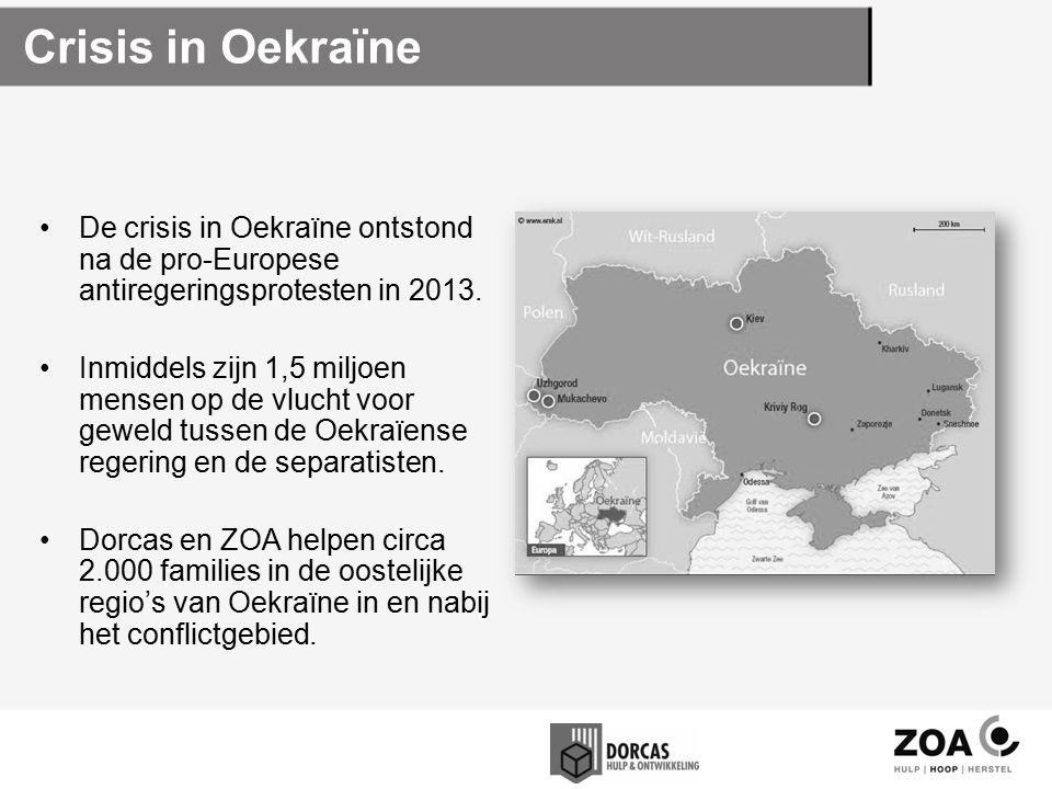 Crisis in Oekraïne De crisis in Oekraïne ontstond na de pro-Europese antiregeringsprotesten in 2013.