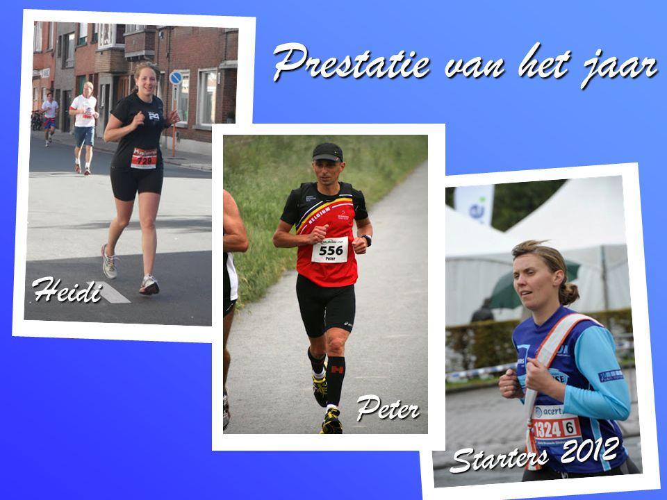 Prestatie van het jaar Heidi Starters 2012 Peter