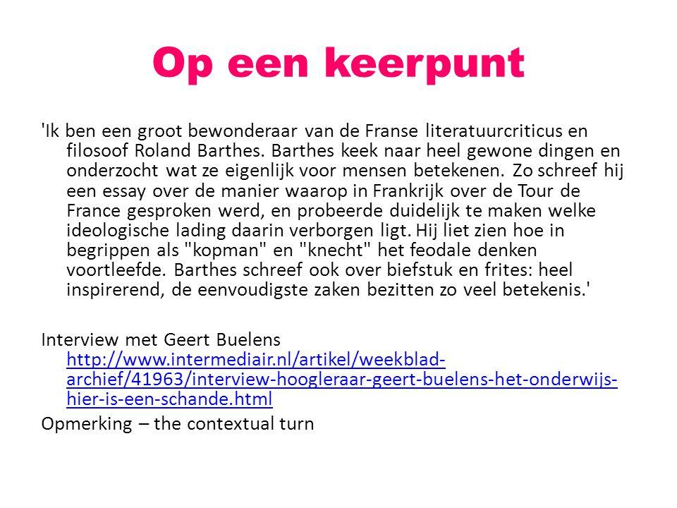 Neerlandici en internet Discussie