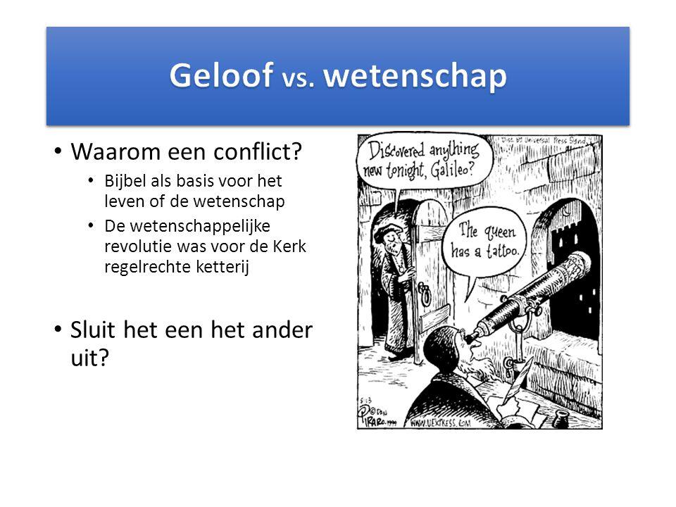 Waarom een conflict.