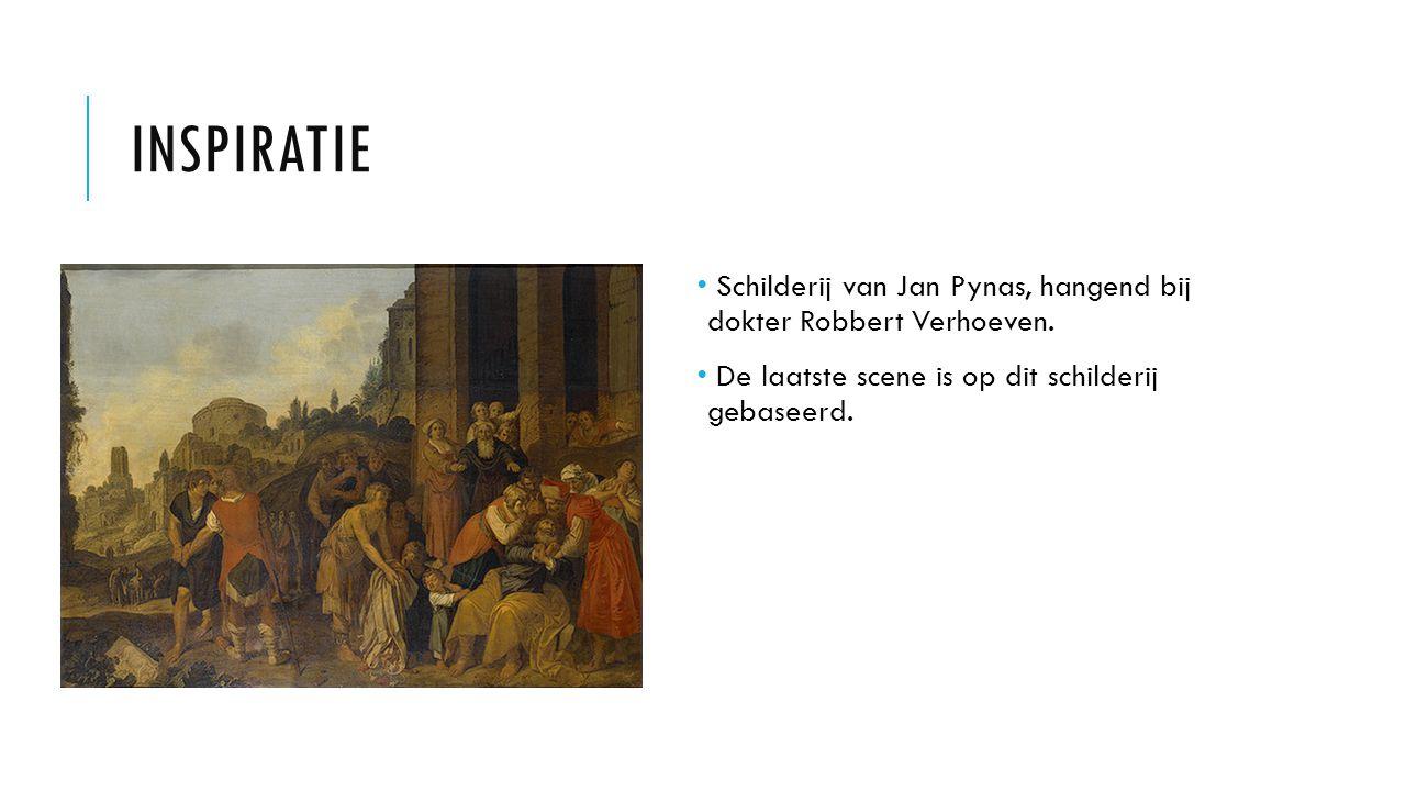 INSPIRATIE Schilderij van Jan Pynas, hangend bij dokter Robbert Verhoeven. De laatste scene is op dit schilderij gebaseerd.