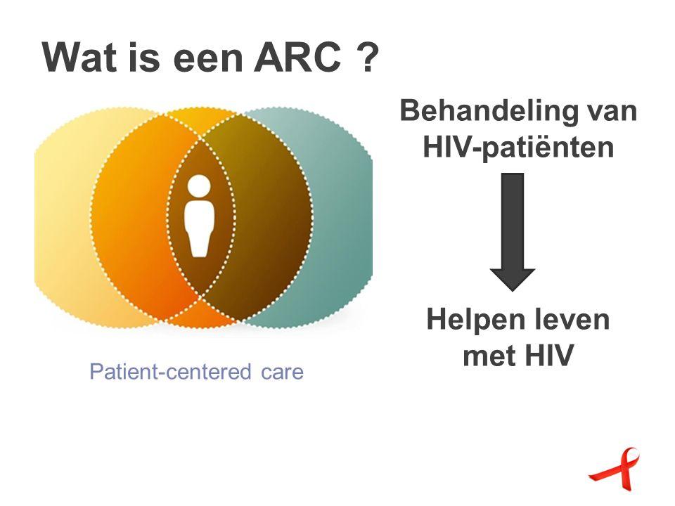 Wat is een ARC Behandeling van HIV-patiënten Helpen leven met HIV Patient-centered care