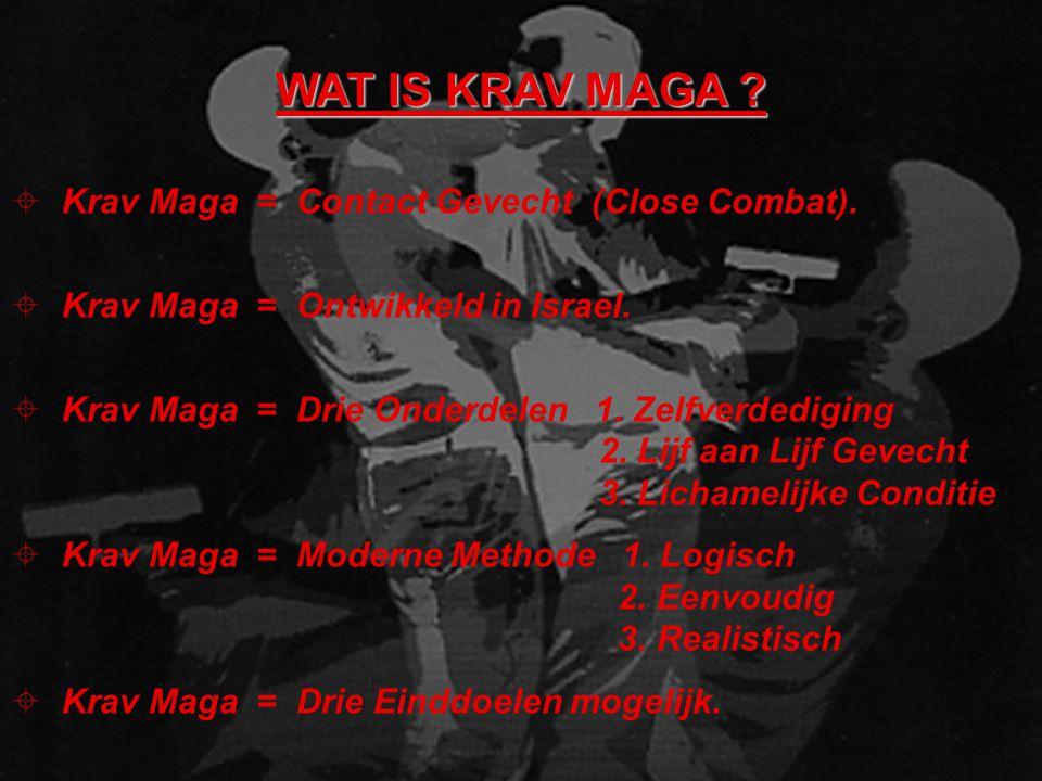 WAT IS KRAV MAGA .± Krav Maga = Contact Gevecht (Close Combat).