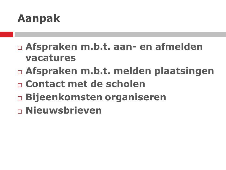 467 Beschikbare kandidaten  85 gepensioneerden Wijs Grijs  15 kandidaten via andere netwerk  125 Stille Reserves Regio Rotterdam  242 Stille Reserves Regio Rijnmond