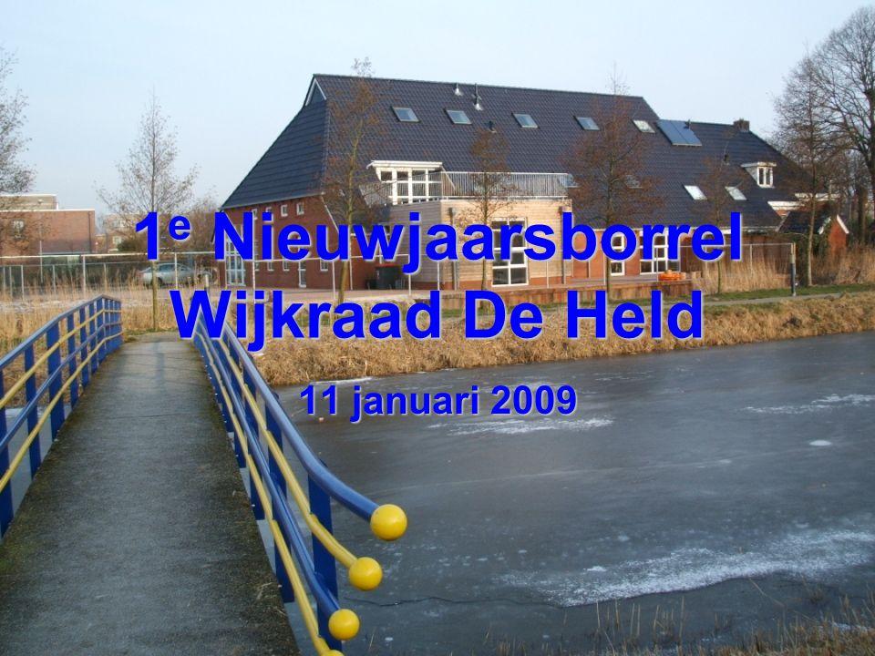 1 e Nieuwjaarsborrel Wijkraad De Held 11 januari 2009