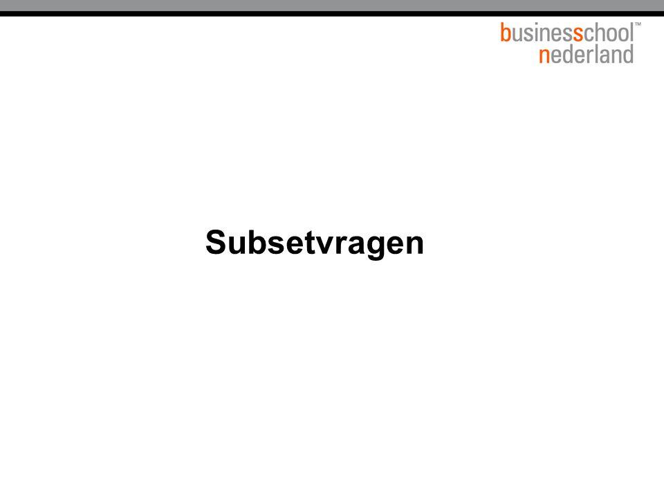 Subsetvragen