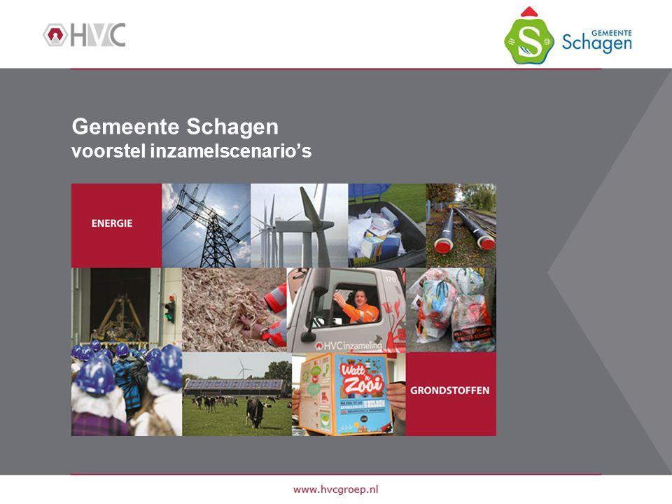 Gemeente Schagen voorstel inzamelscenario's