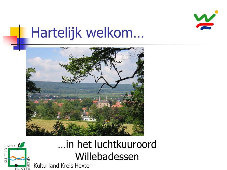 Hartelijk welkom… …in het luchtkuuroord Willebadessen Kulturland Kreis Höxter