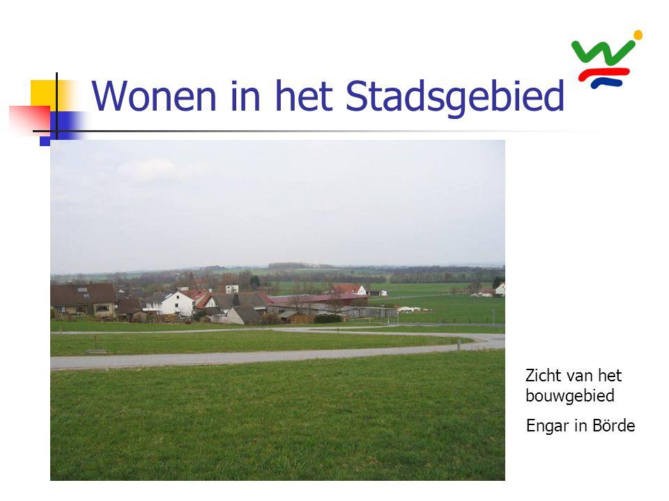 Wonen in het Stadsgebied Zicht van het bouwgebied Engar in Börde