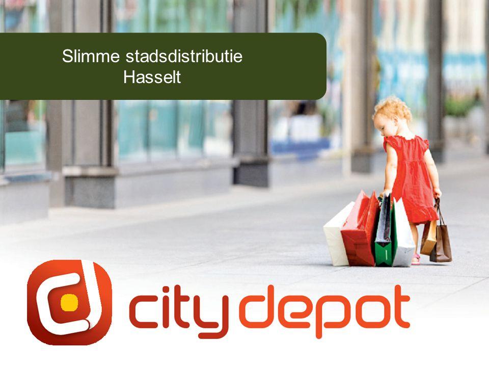 © 2011 Stad Hasselt1 Slimme stadsdistributie Hasselt