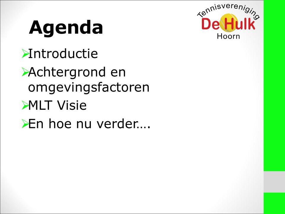 Belangrijke uitgangspunten voor het MLT –Team bij het ontwikkelen van deze visie: Breed gedragen Respect voor het individu….