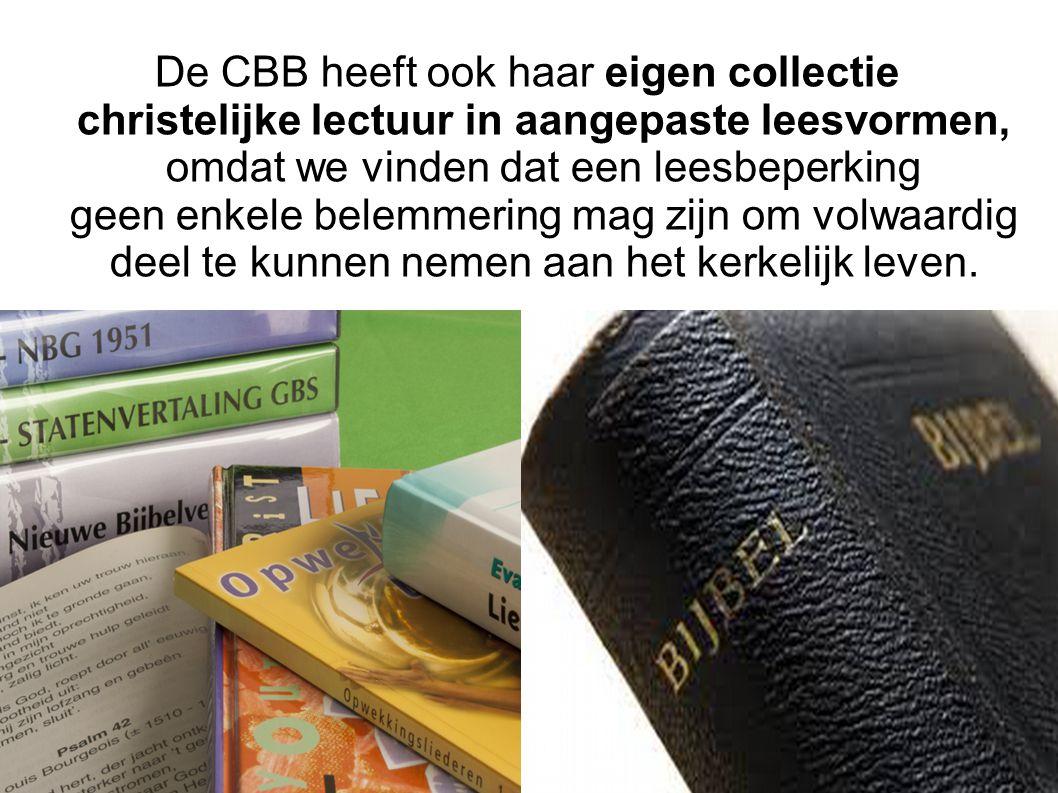 Voor de landelijke collectie van de Stichting Aangepast Lezen in Den Haag zetten wij boeken, kranten en tijdschriften om in aangepaste leesvormen.