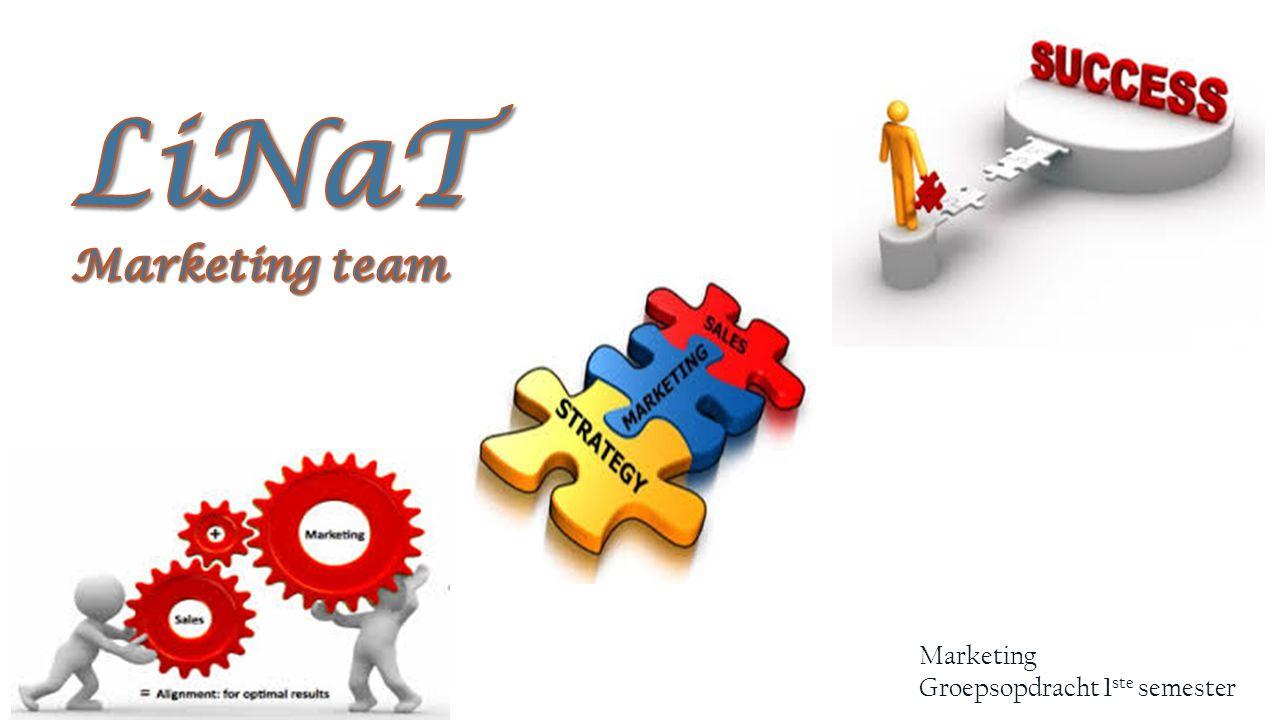 Marketing Groepsopdracht 1 ste semester