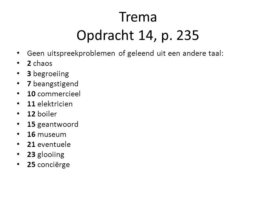 Trema Opdracht 14, p.