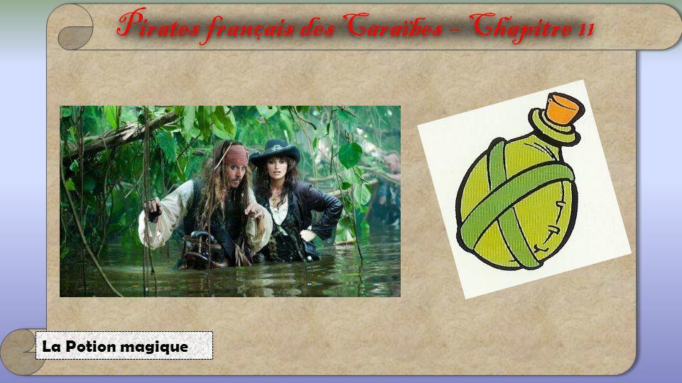 Pirates français des Caraïbes 1.Maak korte zinnen.