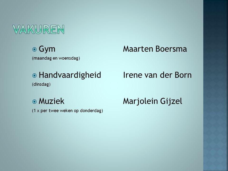  Groep 6 Marieke 2014-20152014-2015  Foto's van activiteiten  Huiswerk  Mogelijkheid tot mailen  Yurls Yurls