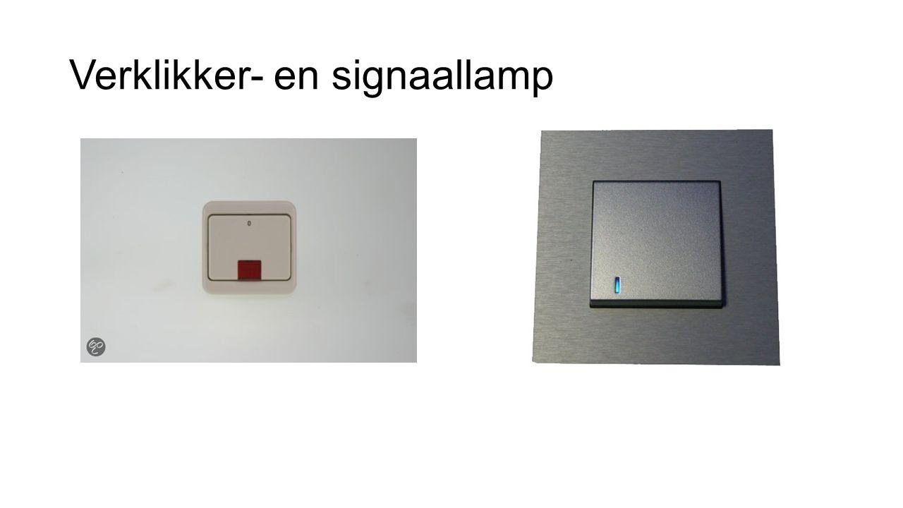 Verklikker- en signaallamp