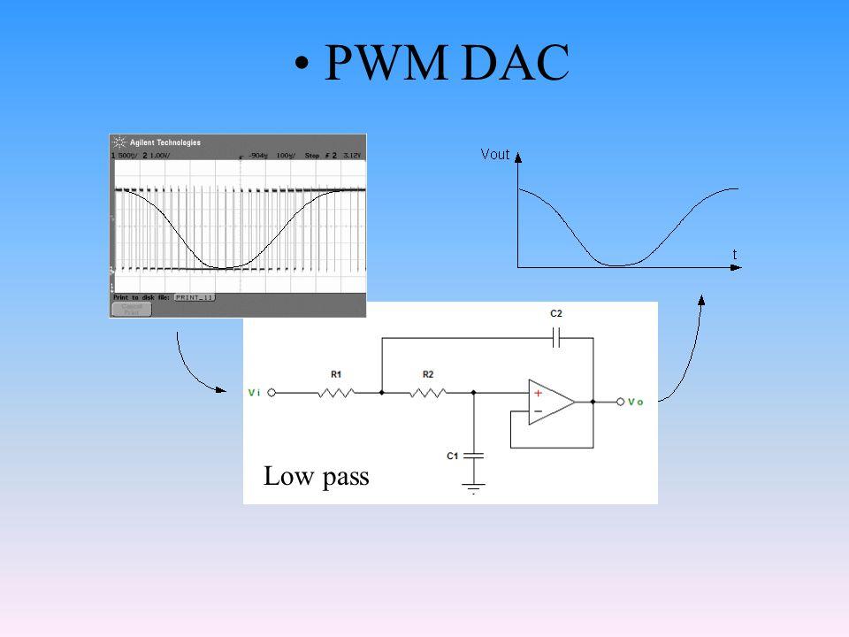 PWM DAC Low pass