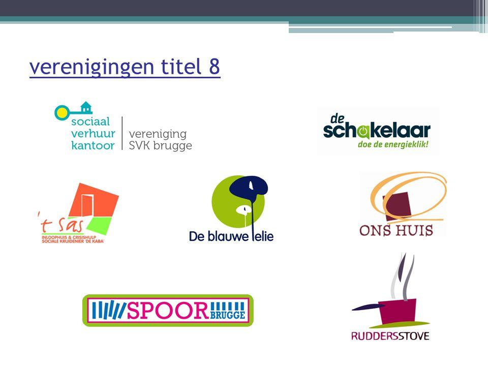Vereniging SPOOR Brugge Blink!: time-out projecten 't Scharnier: studieondersteuning Opvoedingswinkel regio Brugge Loket Kinderopvang