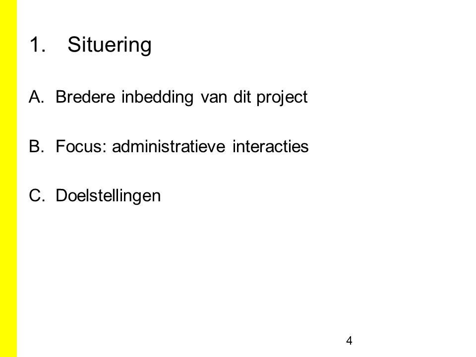Ketenreconstructie BIOS2 (Leuven) 55 Directie Cultuur afdeling bibliotheek BIOS2 Bibliotheek Informatie en Opvolgingssysteem 1.
