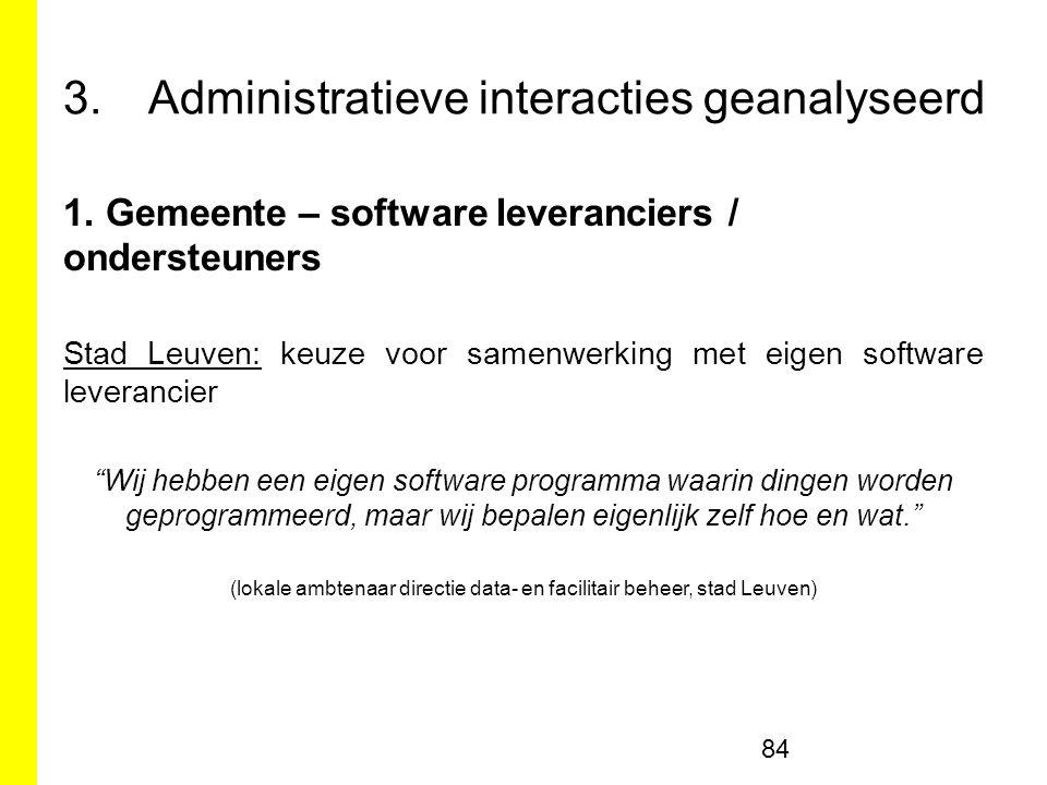 3.Administratieve interacties geanalyseerd 1.