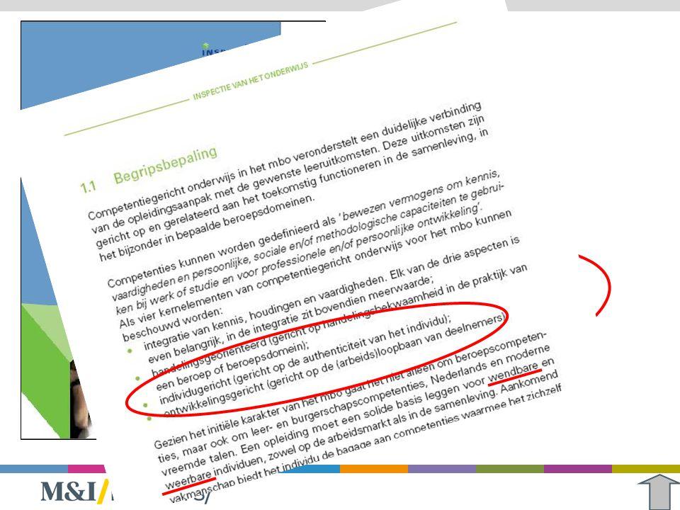 Kosten van flexibiliteit (2) Inzicht in de kosten: Onderwijscalculator (www.mbo2010.nl)www.mbo2010.nl Onderwijsvernieuwingsprojecten: Maak een businesscase > doorrekenen van het concept Maak de kosten van keuzen inzichtelijk Breng de aannames achter bepaalde keuzen in beeld Flexibiliteit speelt (ook) opleidingsoverstijgend Zoek de schaalvoordelen Breng de aannames achter bepaalde keuzen in beeld