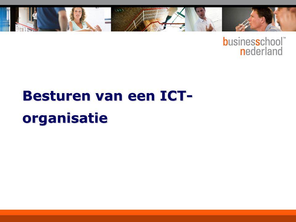 Besturen van een ICT- organisatie