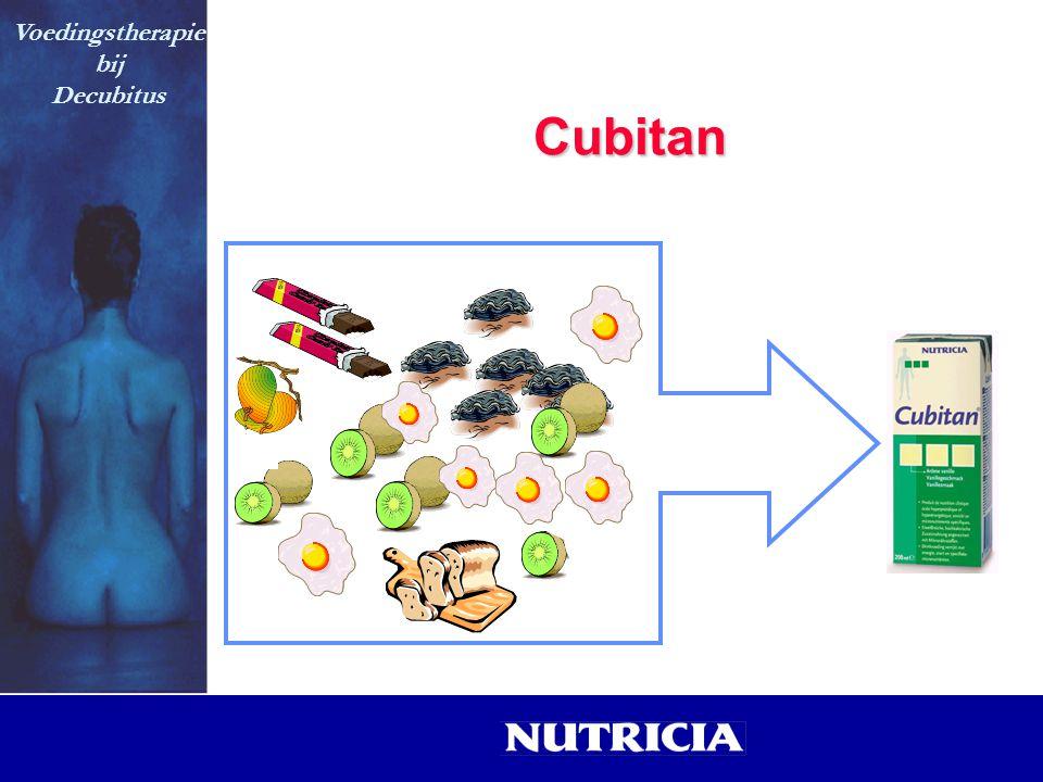 Cubitan Voedingstherapie bij Decubitus