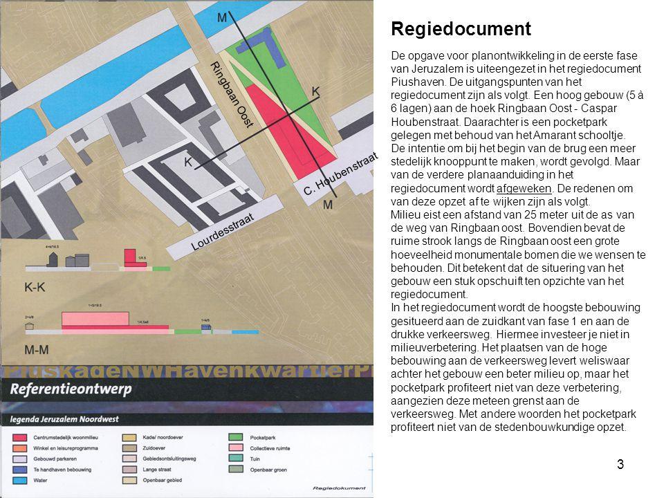 3 Regiedocument De opgave voor planontwikkeling in de eerste fase van Jeruzalem is uiteengezet in het regiedocument Piushaven. De uitgangspunten van h