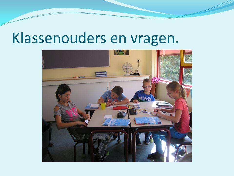 Klassenouders en vragen.