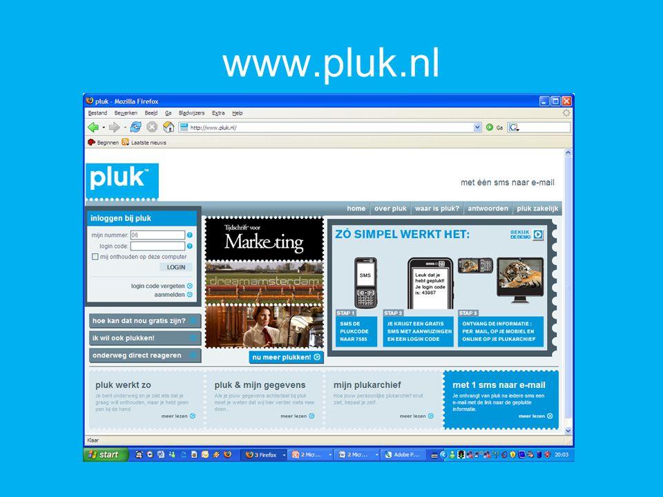 www.pluk.nl