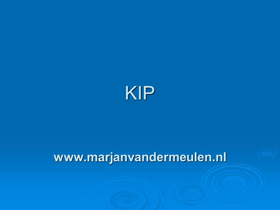 KIP KIP www.marjanvandermeulen.nl www.marjanvandermeulen.nl