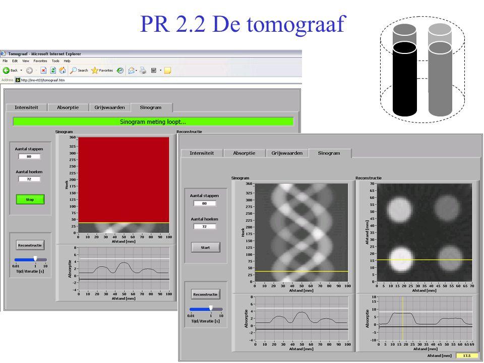 PR 2.2 De tomograaf