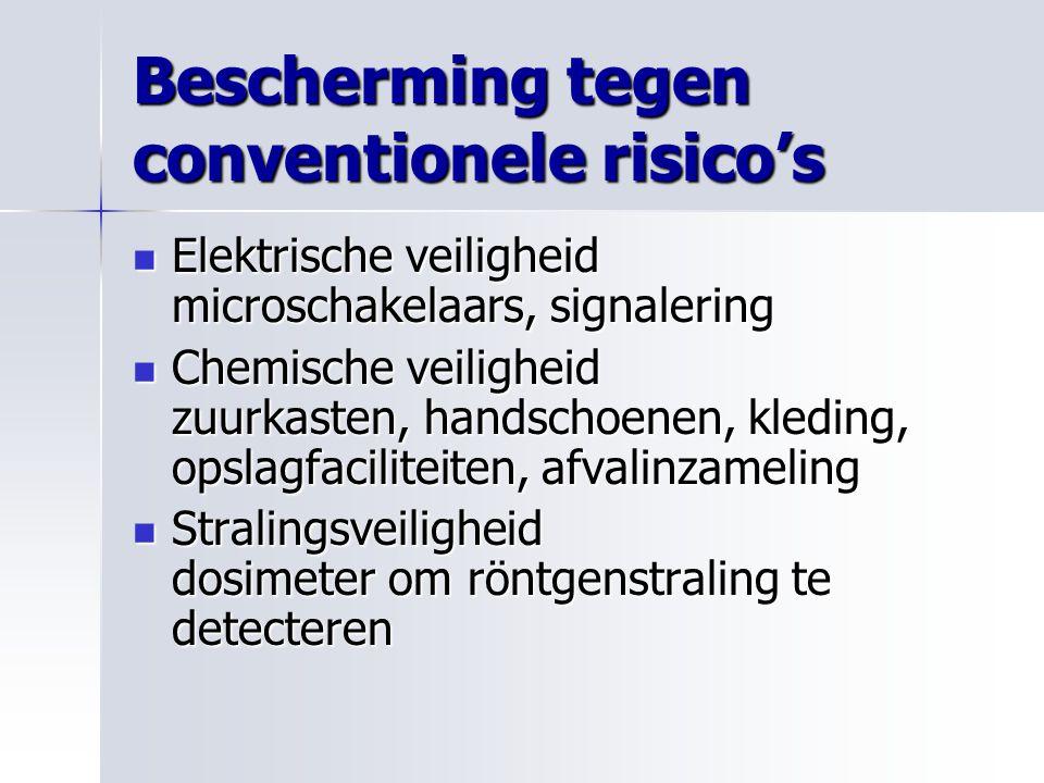 Bescherming tegen conventionele risico's Elektrische veiligheid microschakelaars, signalering Elektrische veiligheid microschakelaars, signalering Che