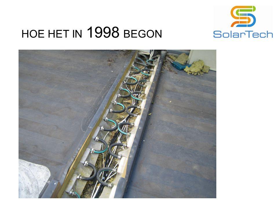 HOE HET IN 1998 BEGON