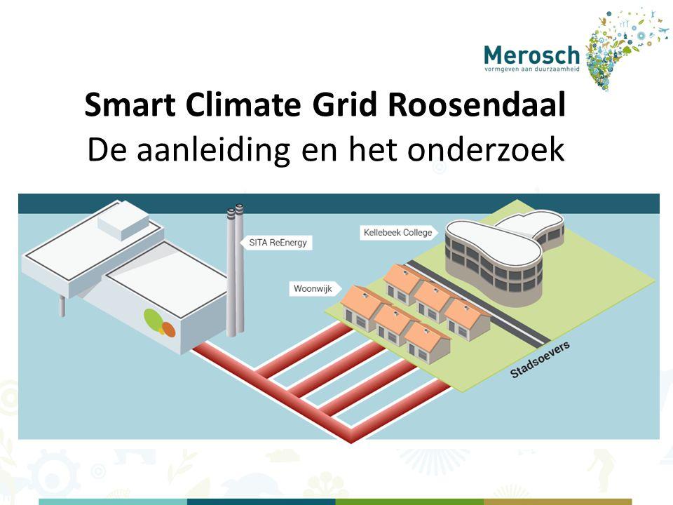 Smart Climate Grid Roosendaal De aanleiding en het onderzoek