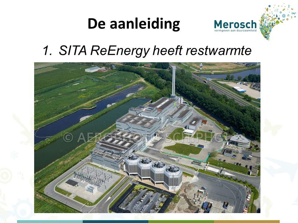 De aanleiding 1.SITA ReEnergy heeft restwarmte