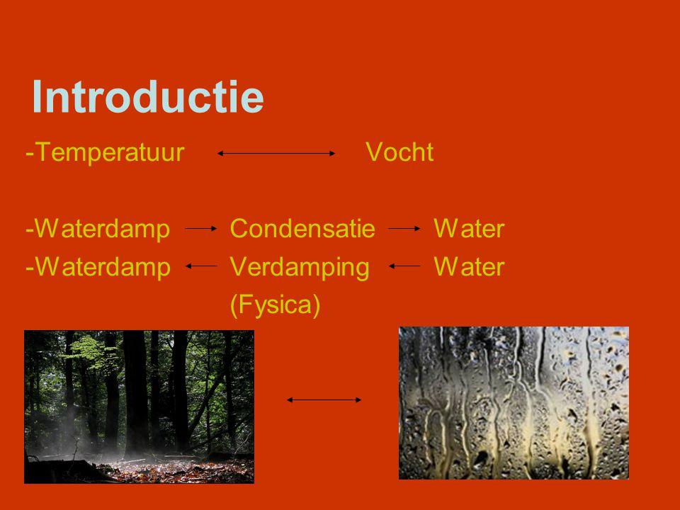Temperatuur -Opbouw constructie; -Temperatuurverloop; -Berekening.