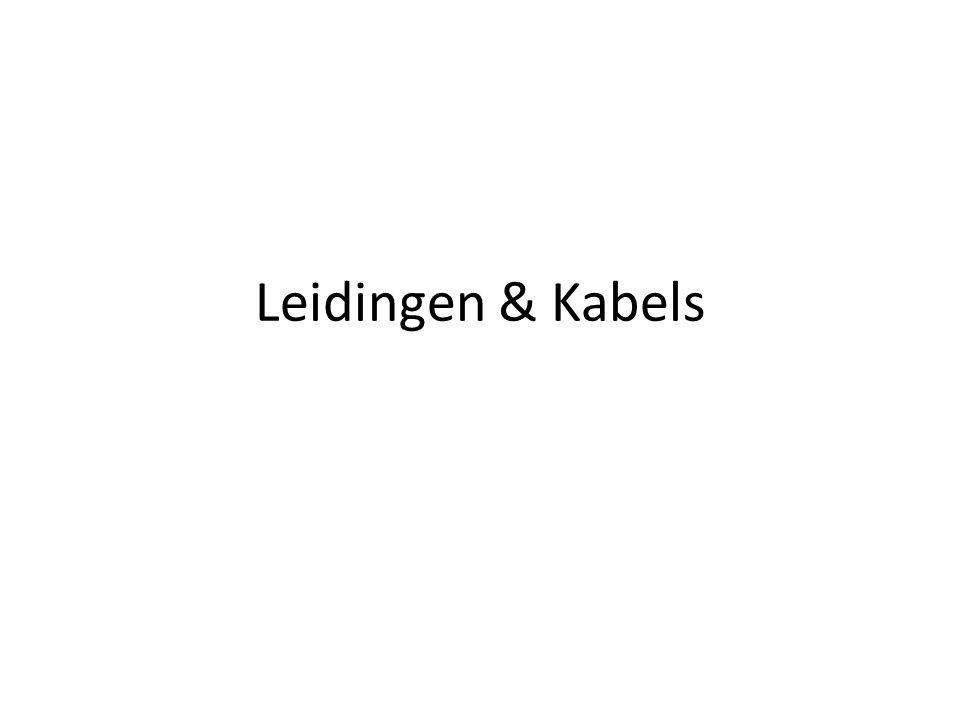 Leidingen & Kabels
