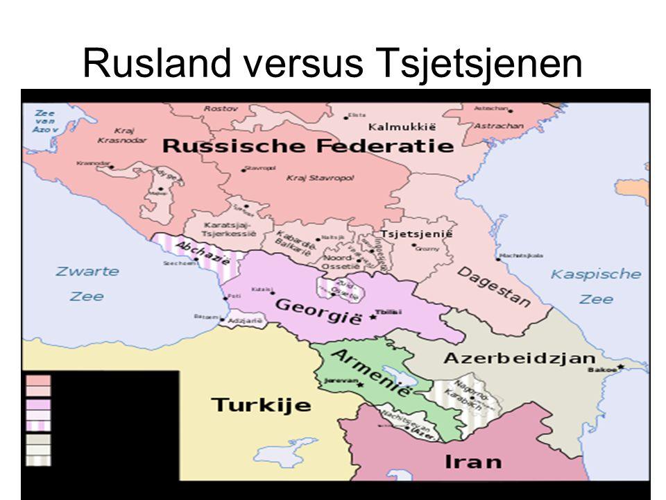Rusland versus Tsjetsjenen