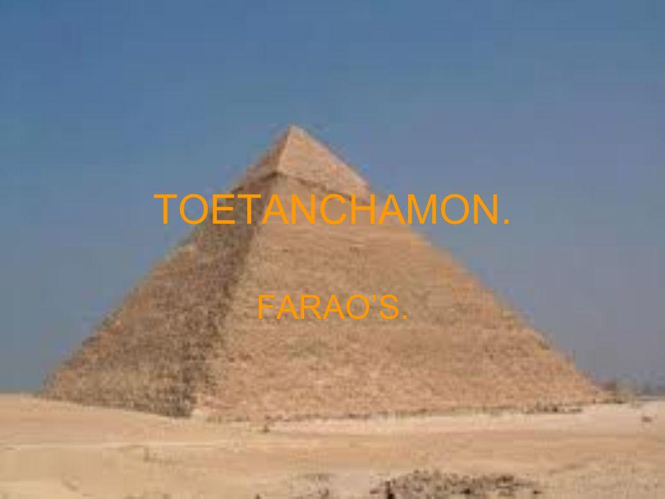 TOETANCHAMON. FARAO'S.