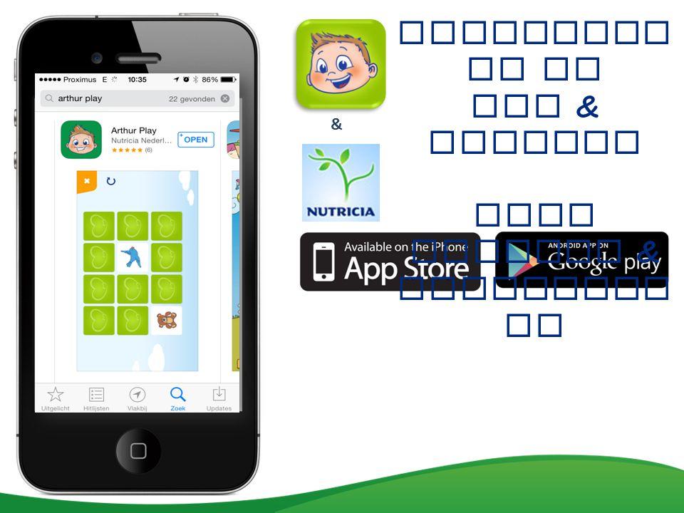 Beschikba ar op IOS & Android voor tablets & Smartphon es &