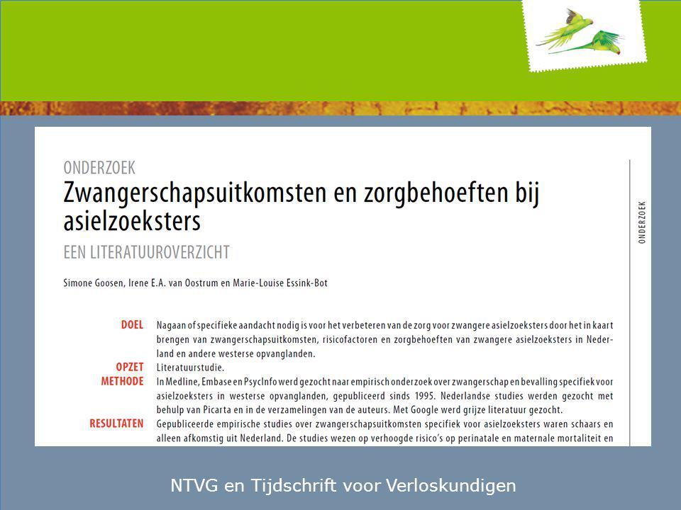 NTVG en Tijdschrift voor Verloskundigen