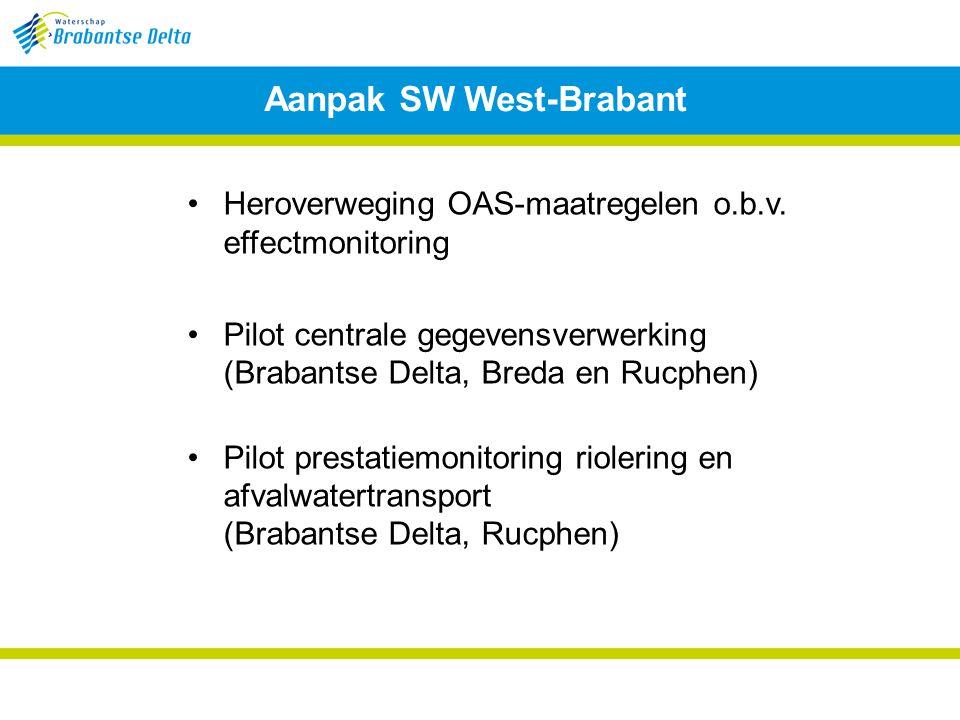Aanpak SW West-Brabant Heroverweging OAS-maatregelen o.b.v.