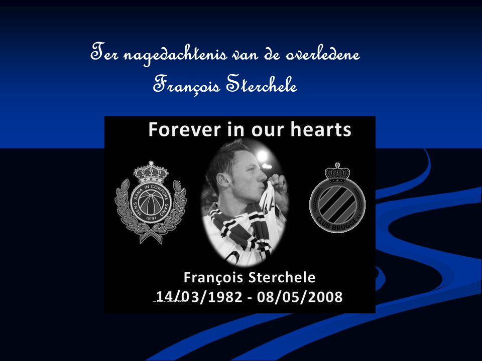 Foto en bloemen werden er ook bij gelegd als aandenken aan François Sterchele