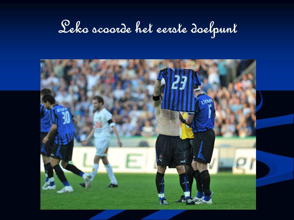 Leko scoorde het eerste doelpunt